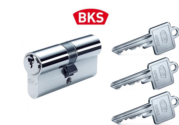 Profilzylinder BKS PZ 88 Schließzylinder Türschloss mit N+G inkl. 3 Schlüssel