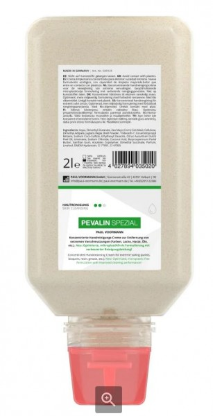 Pevalin Spezial Handreinigungs-Creme 2000ml Softflasche PEVA