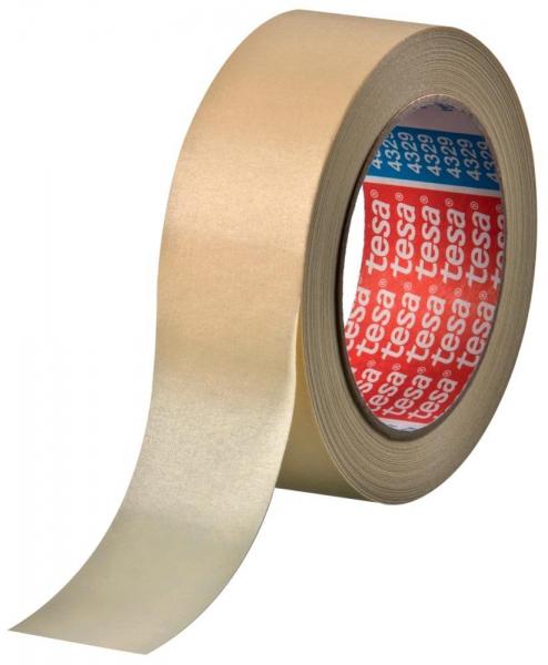 tesa krepp 4329 Papierabdeckband für Lackierarbeiten mit anschließender Trocknung bis 70°C