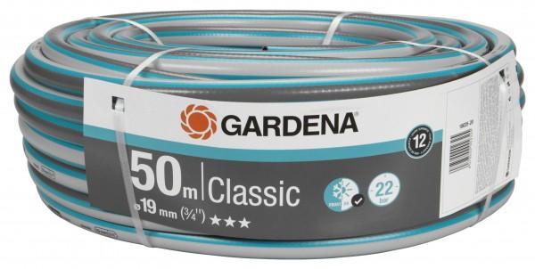 GARDENA Classic Schlauch, 19 mm (3/4''), 50 m, ohne Systemteile