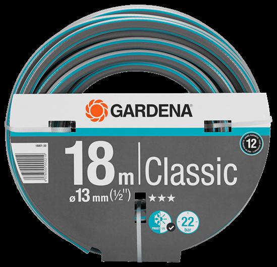 GARDENA Classic Schlauch, 13 mm (1/2''), 18 m, ohne Systemteile