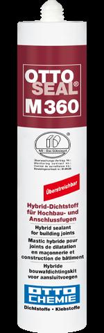 Ottoseal M 360 Hybrid-Dichtstoff für Hochbau- und Anschlussfugen