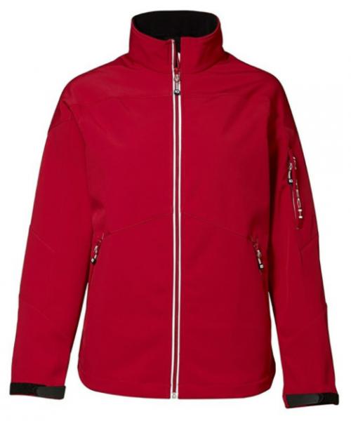 Softshell Jacke 47279 Damen rot Pionier Workwear