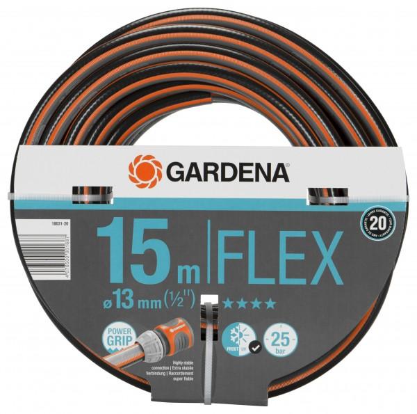 GARDENA Comfort FLEX Schlauch 9x9, 13 mm (1/2''), 15 m, ohne Systemteile