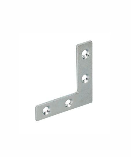 Vormann Einlassecke 75 x 12 mm verzinkt Käntig Winkel Eckverbinder