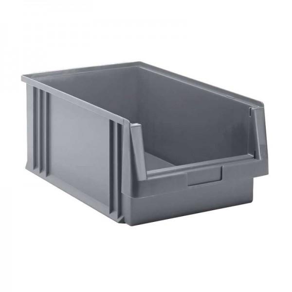 Sichtlagerkasten PLK 1 grau - leichte Gebrauchsspuren