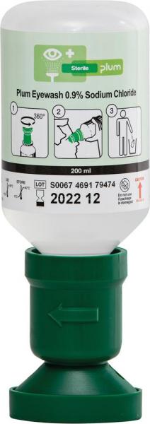 Augenspülflasche Plum 200ml gefüllt