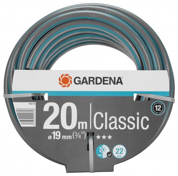 GARDENA Classic Schlauch, 19 mm (3/4''), 20 m, ohne Systemteile